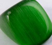 Fake cat's eye gemstone #